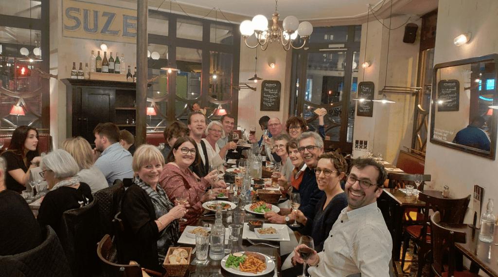 Cena entre Greeters